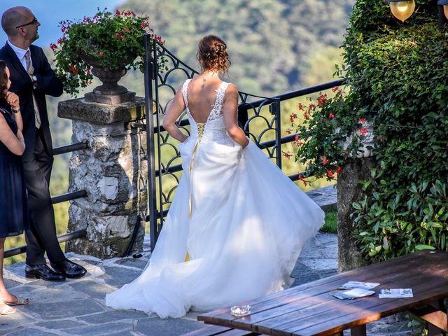 Il matrimonio di Nicola e Michela a Barni, Como 141