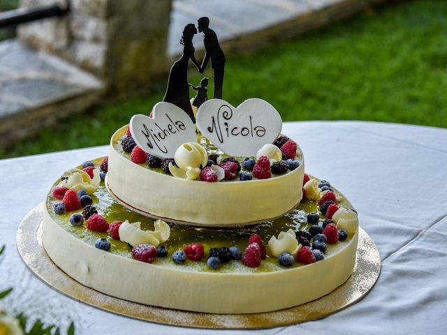 Il matrimonio di Nicola e Michela a Barni, Como 142
