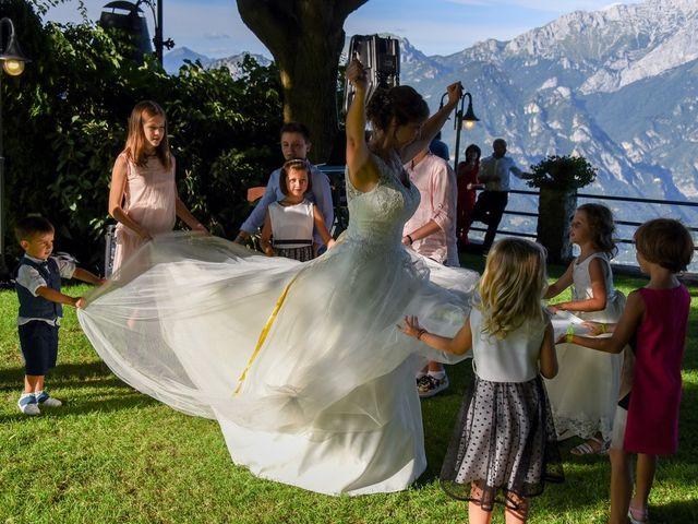 Il matrimonio di Nicola e Michela a Barni, Como 151