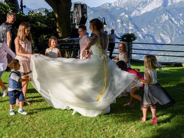 Il matrimonio di Nicola e Michela a Barni, Como 152