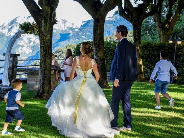Il matrimonio di Nicola e Michela a Barni, Como 154