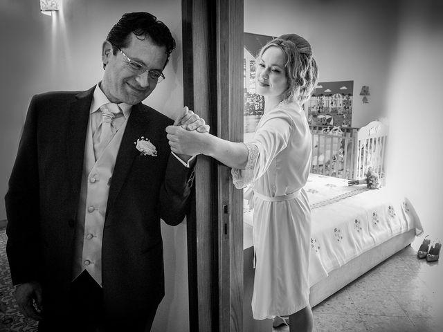 Le nozze di Oksana e Massimo