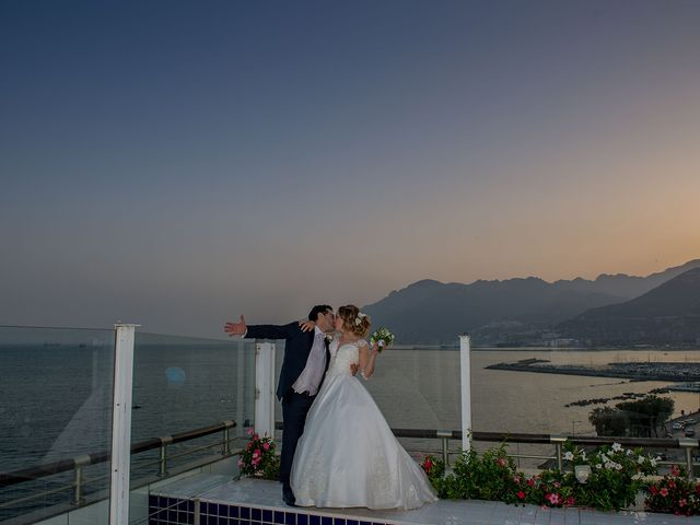 Il matrimonio di Massimo e Oksana a Salerno, Salerno 47