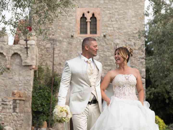le nozze di Simona e Sergio