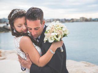 Le nozze di Giulia Zaikina e Ruben Dominguez