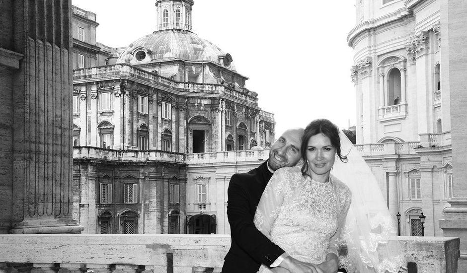 Il matrimonio di Caterina e Luca a Roma, Roma