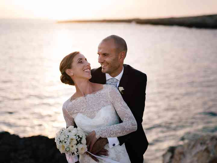 le nozze di Genny e Mirko