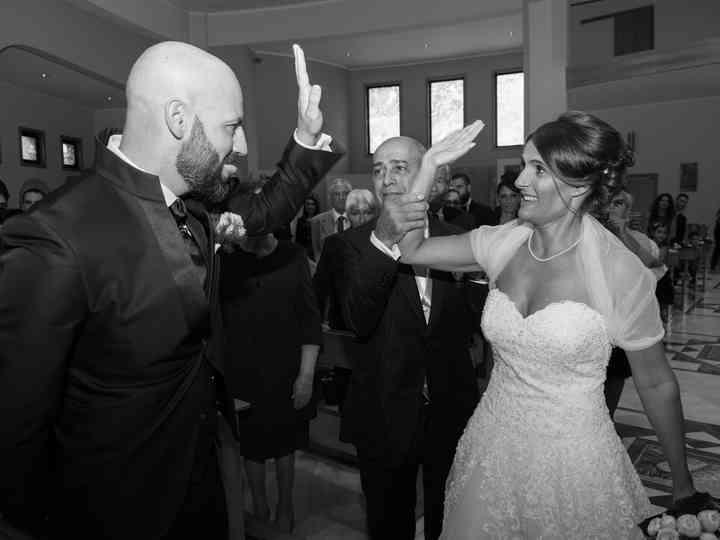 le nozze di Michela e Efisio