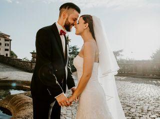 Le nozze di Giorgia e Lorenzo