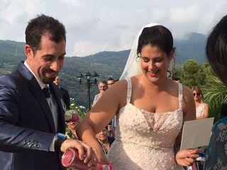 Le nozze di Claudia sala e Roberto massa