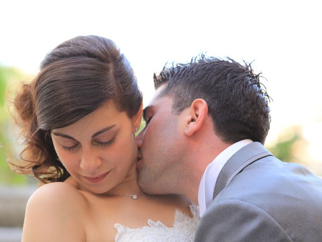 le nozze di Cristina e Smeraldo
