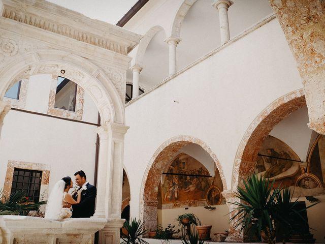 Il matrimonio di Michele e Angela a San Giovanni Rotondo, Foggia 32