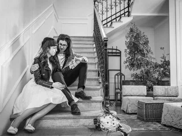 Il matrimonio di Alberto e Lucrezia a Inveruno, Milano 1