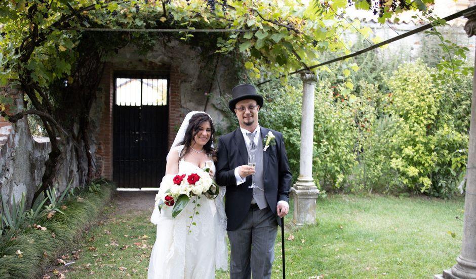 Il matrimonio di Francesca e Christian a Mercenasco, Torino