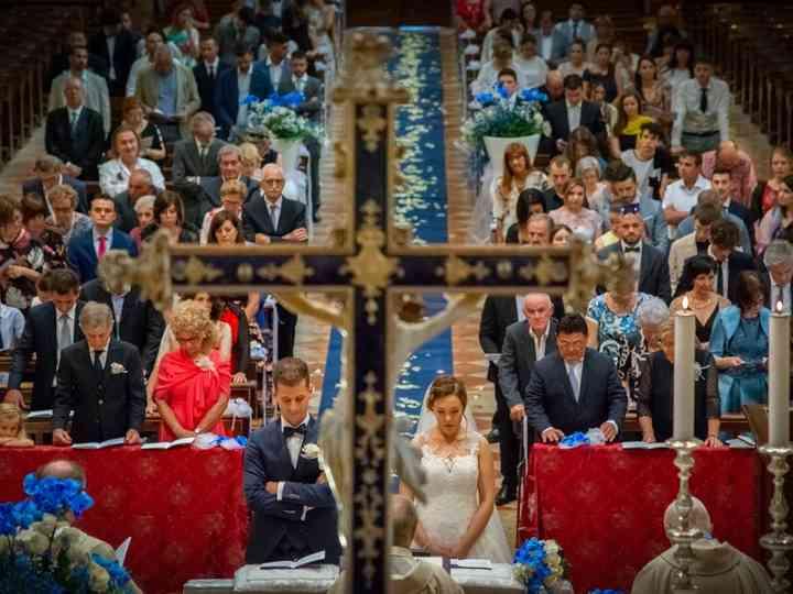 le nozze di Marta e Andrea