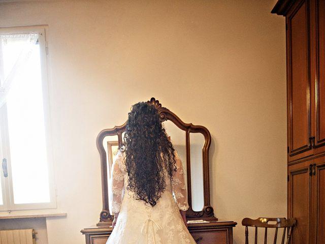 Il matrimonio di Valentina e Alessio a Pomponesco, Mantova 11