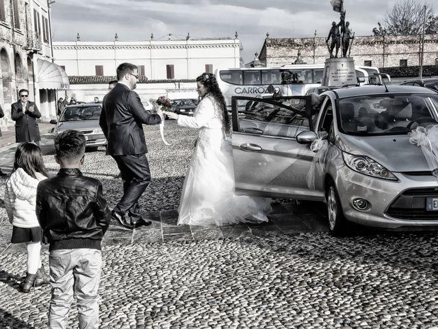 Il matrimonio di Valentina e Alessio a Pomponesco, Mantova 15