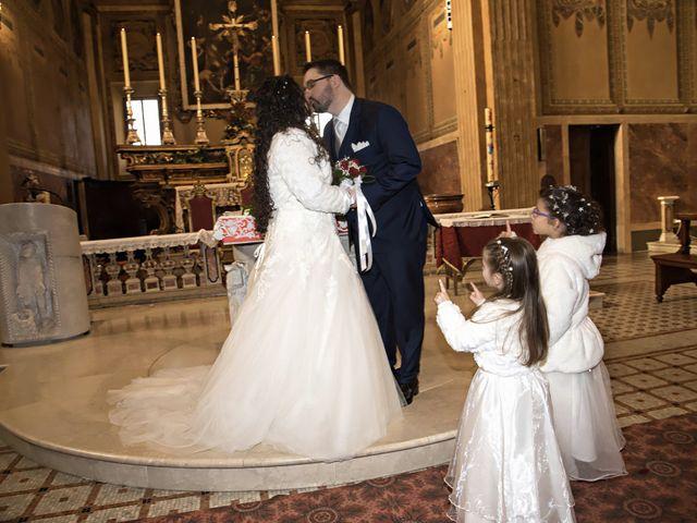 Il matrimonio di Valentina e Alessio a Pomponesco, Mantova 26