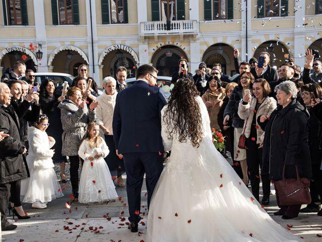 Il matrimonio di Valentina e Alessio a Pomponesco, Mantova 27