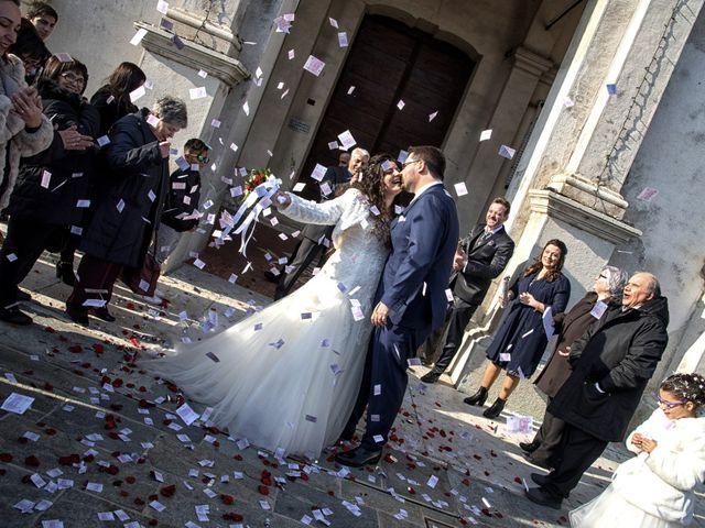Il matrimonio di Valentina e Alessio a Pomponesco, Mantova 28