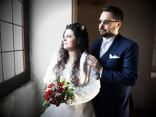 Il matrimonio di Valentina e Alessio a Pomponesco, Mantova 29