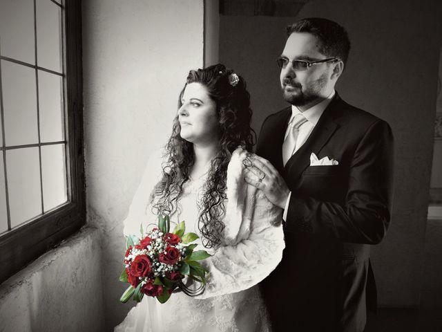 Il matrimonio di Valentina e Alessio a Pomponesco, Mantova 30