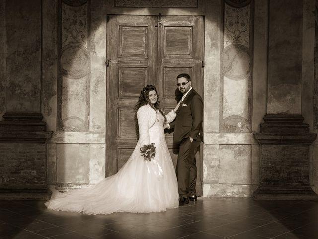 Il matrimonio di Valentina e Alessio a Pomponesco, Mantova 32