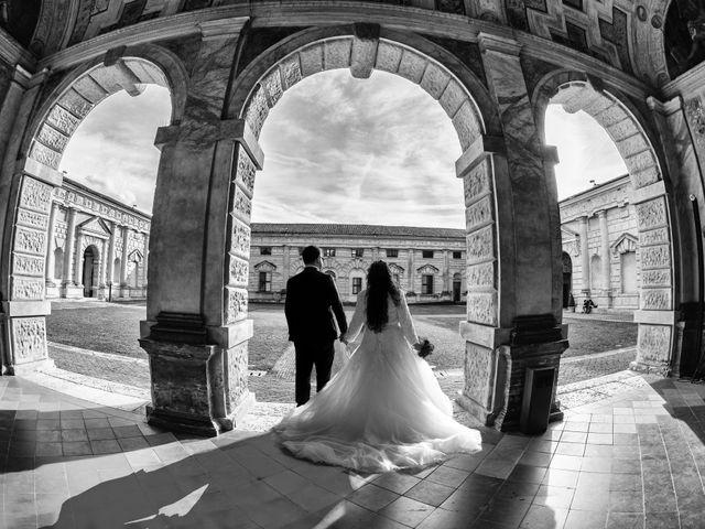 Il matrimonio di Valentina e Alessio a Pomponesco, Mantova 37