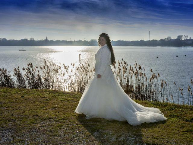 Il matrimonio di Valentina e Alessio a Pomponesco, Mantova 40