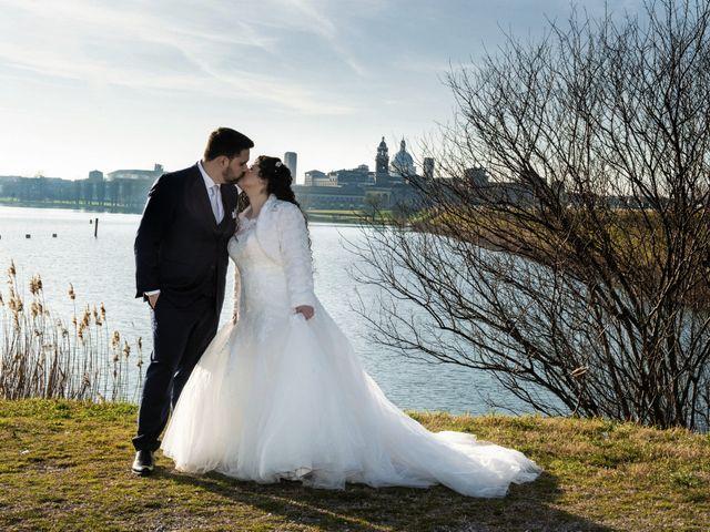 Il matrimonio di Valentina e Alessio a Pomponesco, Mantova 41