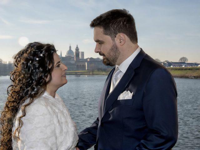 Il matrimonio di Valentina e Alessio a Pomponesco, Mantova 42