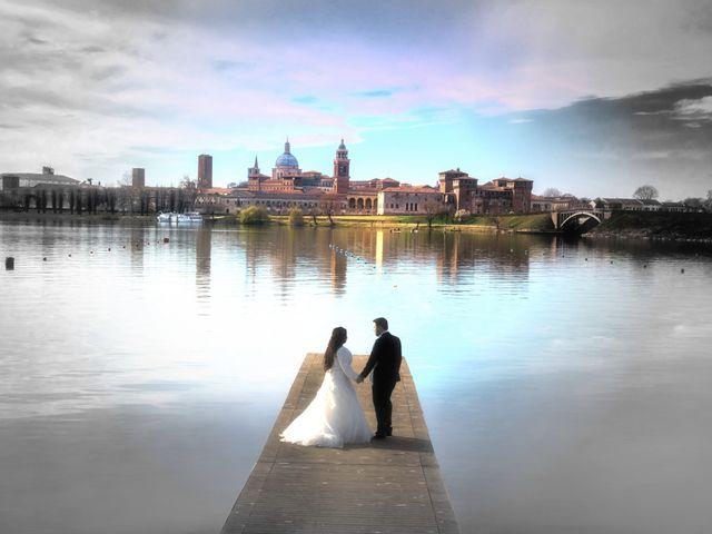Il matrimonio di Valentina e Alessio a Pomponesco, Mantova 43