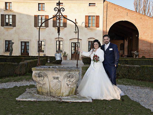 Il matrimonio di Valentina e Alessio a Pomponesco, Mantova 45