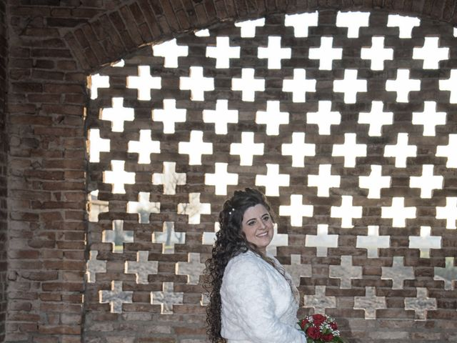 Il matrimonio di Valentina e Alessio a Pomponesco, Mantova 47
