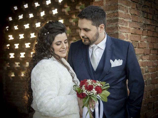 Il matrimonio di Valentina e Alessio a Pomponesco, Mantova 49