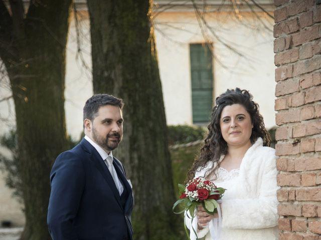 Il matrimonio di Valentina e Alessio a Pomponesco, Mantova 51