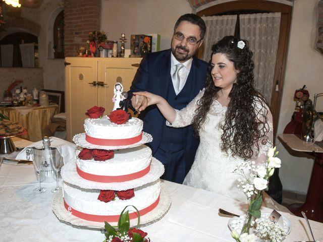 Il matrimonio di Valentina e Alessio a Pomponesco, Mantova 56