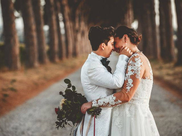 Le nozze di Michela e Linda