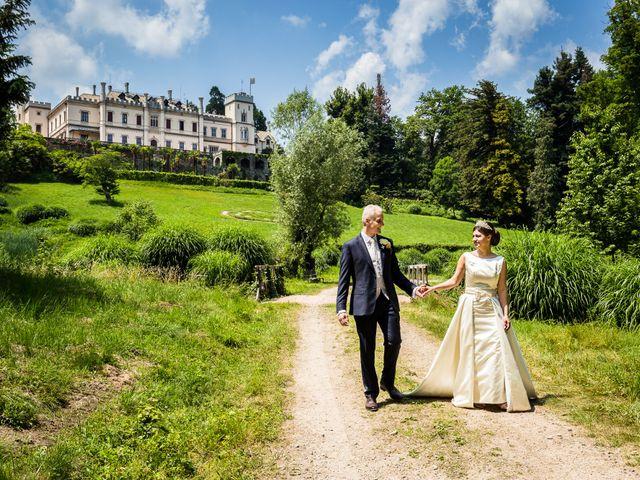 Il matrimonio di Alexander e Naia a Arona, Novara 1