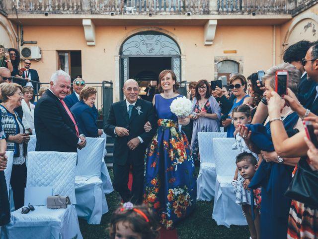 Il matrimonio di Roberto e Tiziana a Sant'Alfio, Catania 36