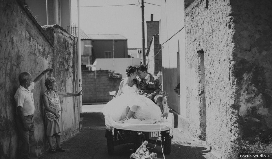 Il matrimonio di Claudio e Giada a Lunamatrona, Cagliari
