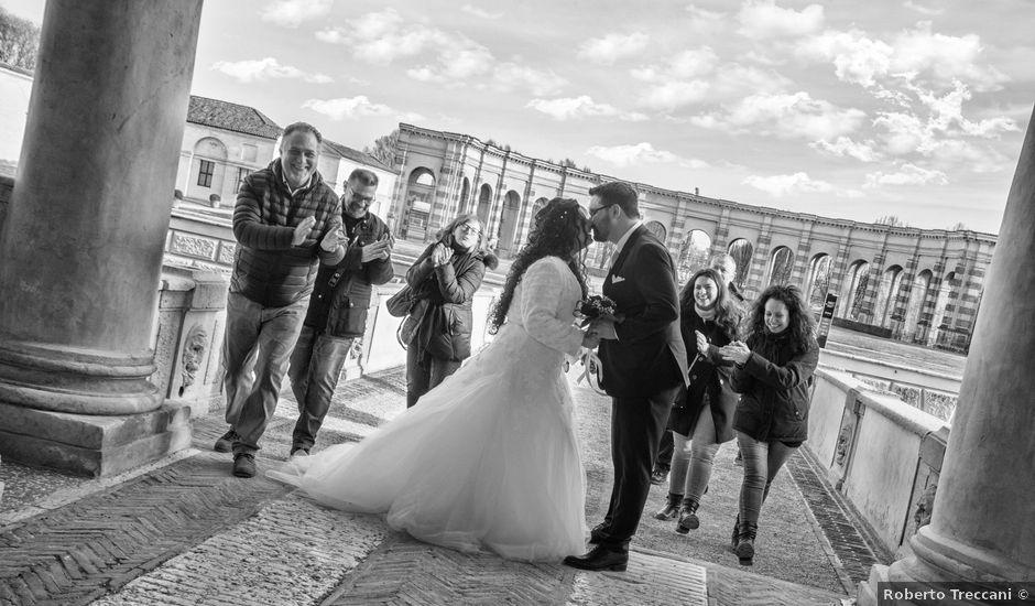 Il matrimonio di Valentina e Alessio a Pomponesco, Mantova