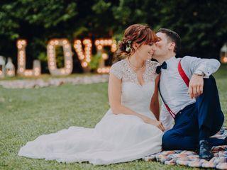Le nozze di Amy e Luca