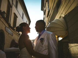 Le nozze di Catia e Jean Luc