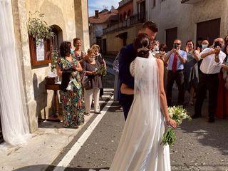 Le nozze di Elizabeth e Andrea
