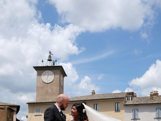 Il matrimonio di Vincenzo e Malki a Orvieto, Terni 14