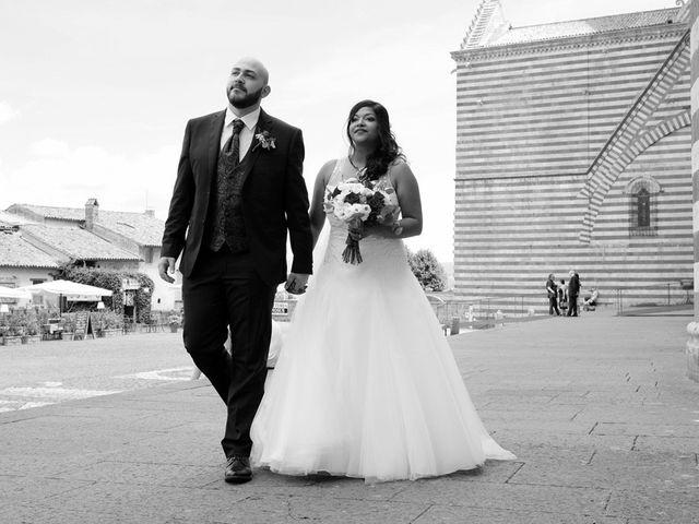 Il matrimonio di Vincenzo e Malki a Orvieto, Terni 1
