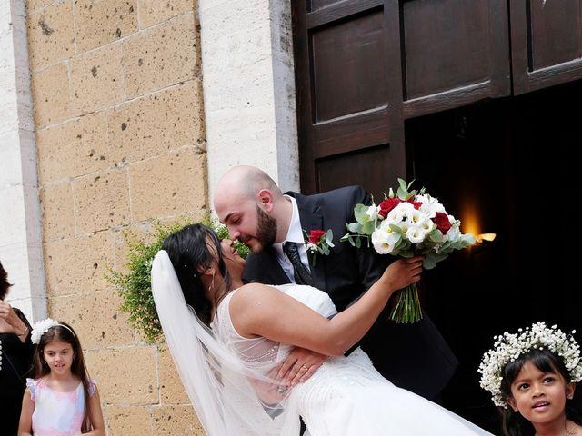 Il matrimonio di Vincenzo e Malki a Orvieto, Terni 32