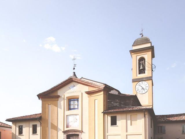 Il matrimonio di Marco e Ilaria a Rocca Susella, Pavia 36