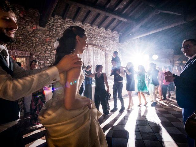 Il matrimonio di Gianandrea e Arianna a Calcinato, Brescia 83
